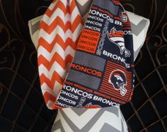 Denver Broncos Infinity Scarf-Broncos by SewingCreationsByAmy