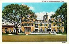 Beaumont Texas TX 1930 New Y M C A Building Collectible Antique Vintage Postcard