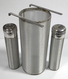 "center hanging keg ""keggle"" dry hopper with two corny keg dry hoppers"