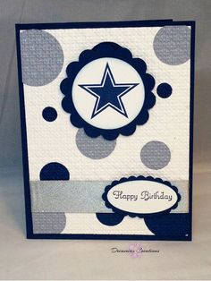 Great for any Dallas cowboy fan. This by DreamiasCreations on Etsy, $4.00