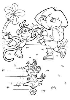 Epic Free Printable Cartoon Coloring Pages