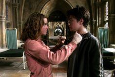 """Three turns should do it, I think."" - Dumbledore #HarryPotter #TimeTurner #Dumbledore #Hermione #EmmaWatson #PrisonerOfAzkaban"