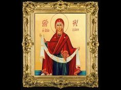 The Belt of the Panagia - Constantine Zalalas Icons, Youtube, Painting, Art, Art Background, Symbols, Painting Art, Kunst, Paintings