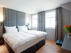 design apartment HERLINDE | bedroom Schlafzimmer | Ferienwohnung Mellau-Damüls Faschina Skischaukel