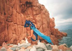 The Goddess Of Arbatax by Sela Holkeson, via Behance