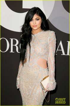 Kylie Jenner go out all glam for a 2015 Grammys after party on Sunday night (February 8) in Los Angeles.