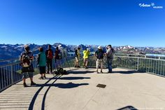 The top of the Valluga m a.) The highest point that can be reached by cable car in St. Anton am Arlberg Tirol Austria, Anton, Car Ins, High Point, Cable, Street View, Summer, Cabo, Summer Time