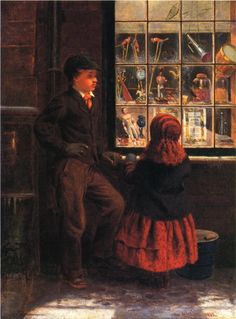 Christmas Eve : George H.Yewell 1863 | In the Swan's Shadow