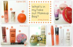 Shilby Diaries: What's in my Take out Makeup Bag? (Summer Version)