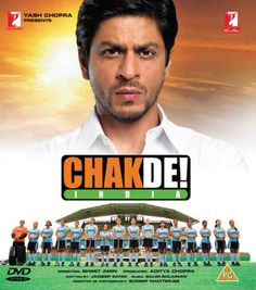 #ChakDeIndia! Not usually into sports movies, but I was hooked.