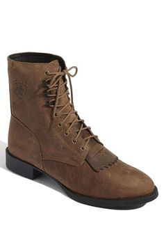 Ariat 'Heritage Lacer' Boot (Online Only) (Men) available at #Nordstrom
