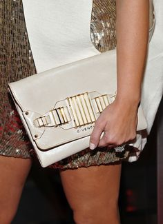 Television personality Kim Kardashian (accessory detail) attends Vikram Chatwal's 40th Birthday celebration at Romera at the Dream Downtown on October 28, 2011 in New York City.