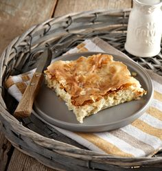 Greek Recipes, Wine Recipes, Cooking Recipes, Cookie Dough Pie, Savoury Baking, Recipe Boards, Mediterranean Recipes, Apple Pie, Food And Drink