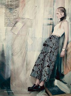 Jean Campbell by Paolo Roversi for Vogue UK May 2014 #balenciaga