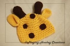 Animal hat ears pattern