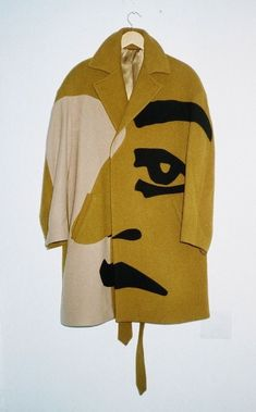 | Picasso Style, Cartoon Faces, Weird Clothes, Nice Clothes, Second Hand Clothes, Mustard Fashion, Fashion Design, Fashion Details, Fashion 2015
