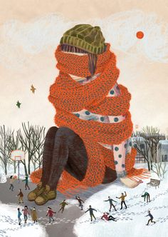 Cornelia Li's Dreamy Illustrations.I'm absolutely loving the dreaminess of artist Cornelia Li's illustrations. [[MORE]]Cornelia Li: Website Illustration Mignonne, Children's Book Illustration, Landscape Illustration, Character Illustration, Diy Organizer, Arte Popular, Illustrations And Posters, Art Design, Collages
