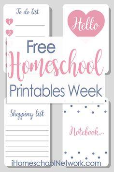 FREE Homeschool Prin