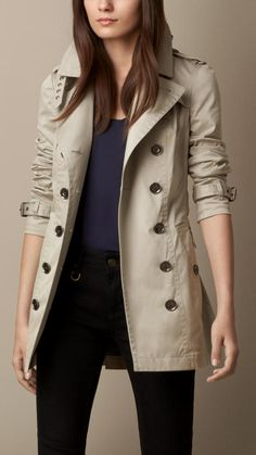 Burberry Showerproof Twill Trench Coat on shopstyle.com