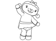 Doc McStuffins friends coloring pages for kids, printable