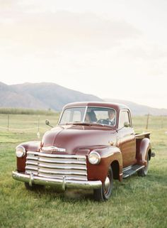 Going Away...Country Style I will have a truck like this before I die