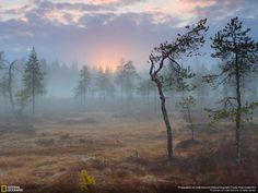 Pantano Pudasjarvi, Finlandia