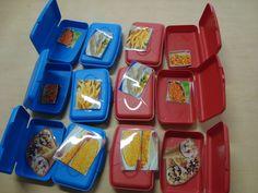 memory spel voor peuters, zoek in een blauw en een rood doosje. English Games, School Opening, Dramatic Play, Food Themes, School Hacks, Bon Appetit, Diy And Crafts, Preschool, Classroom