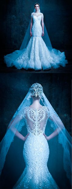 Would you wear this Michael Cinco exquisite wedding gown? #yaynaythedress