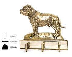 Staffordshire Terrier dog hanger for clothes by ArtDogshopcenter