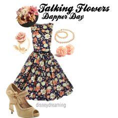 """Talking Flowers Dapper Day"" by em-ily-ann on Polyvore"