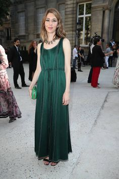 Sofia Coppola attends the Valentino Haute Couture Fall/Winter 2017-2018 show as part of Paris Fashion Week on July 5, 2017 in Paris, France.