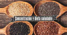 Concentración y dieta saludable – Especial estudiantes en exámenes