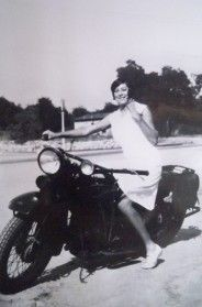 Cool Girls on Motorcycles, Vintage Photo Contest