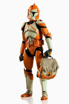 """toyhaven: Sideshow Collectibles 1/6 scale Bomb Squad Clone Trooper: Ordnance Specialist 12"""" figure"""