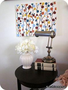 Как нарисовать шедевр для дома своими руками? / картины акриловыми красками