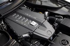 2013 Mercedes-Benz SLS AMG GT engine view