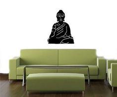 Budda Nirvana Wall Vinyl Sticker Decals Art Mural T174