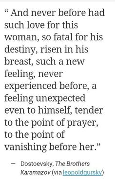 my love for this woman, tender to the point of prayer.