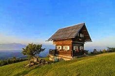 Güzel bir Dag Evi  &  Ein  Schone Berg Hütte