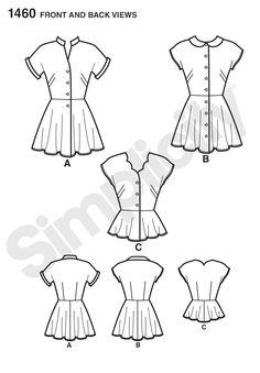 94 best sewing pattern wishlist images dress patterns sewing Dirndl and Lederhosen simplicity sewing patterns vintage patterns tunic blouse collar blouse mandarin