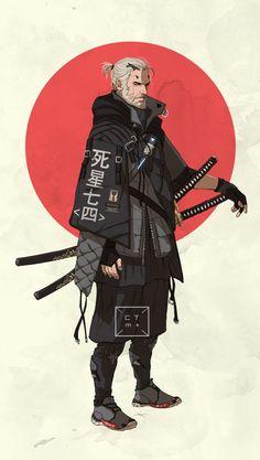 A Wandering Swordsman His Blade For Hire