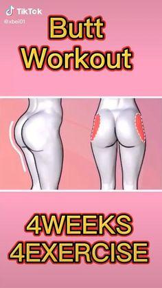 Body Weight Leg Workout, Full Body Gym Workout, Back Fat Workout, Gym Workout Videos, Gym Workout For Beginners, Fitness Workout For Women, Weight Loss Workout Plan, Fitness Workouts, Butt Workout