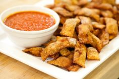 Homemade Totino's Pizza Rolls (fried)