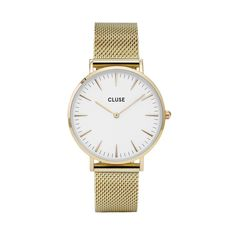 De La Bohème Mesh horloges van Cluse zijn simpel, maar stijlvol. Man of vrouw, Cluse is altijd mooi!