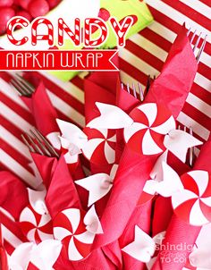 candy napkin wraps