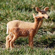 Needle Felted Deer and Fawn by Teresa Perleberg