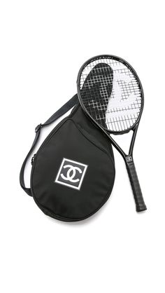 Vintage Chanel Tennis Racquet Case