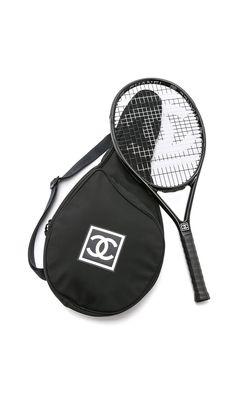 What Goes Around Comes Around Vintage Chanel Tennis Racquet & Case
