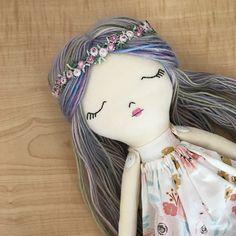 Little Wildwood Dolls Diy Rag Dolls, Sewing Dolls, Diy Doll, Pretty Dolls, Cute Dolls, Beautiful Dolls, Doll Clothes Patterns, Doll Patterns, Homemade Dolls