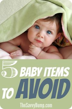 There are so many fantastic baby products out there but you definitely want to AVOID these ones!